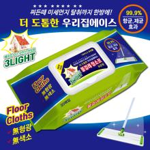 3L 청소포 항균제균 30매입 캡형 상큼한향