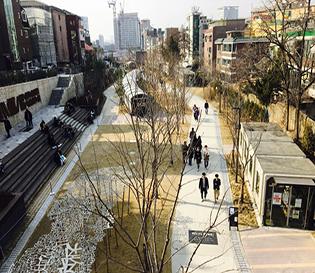 경의선숲길(연트럴파크)