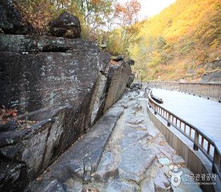 울산 천전리각석계곡