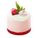 파리바게뜨 딸기라떼 케이크(미니)