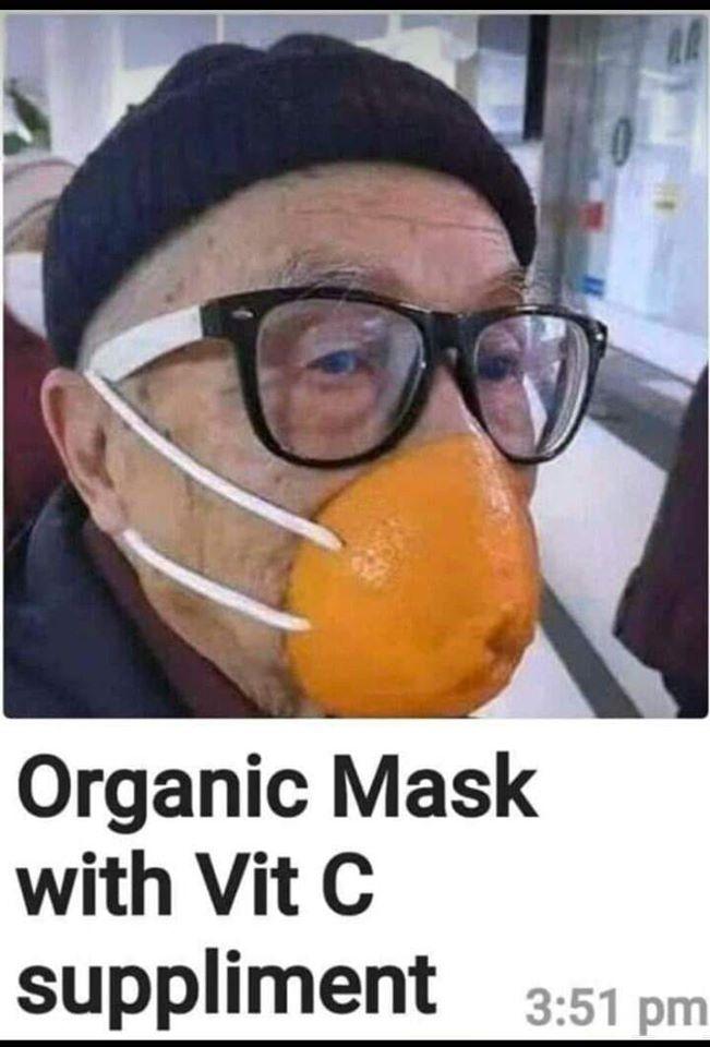 오렌지 마스크