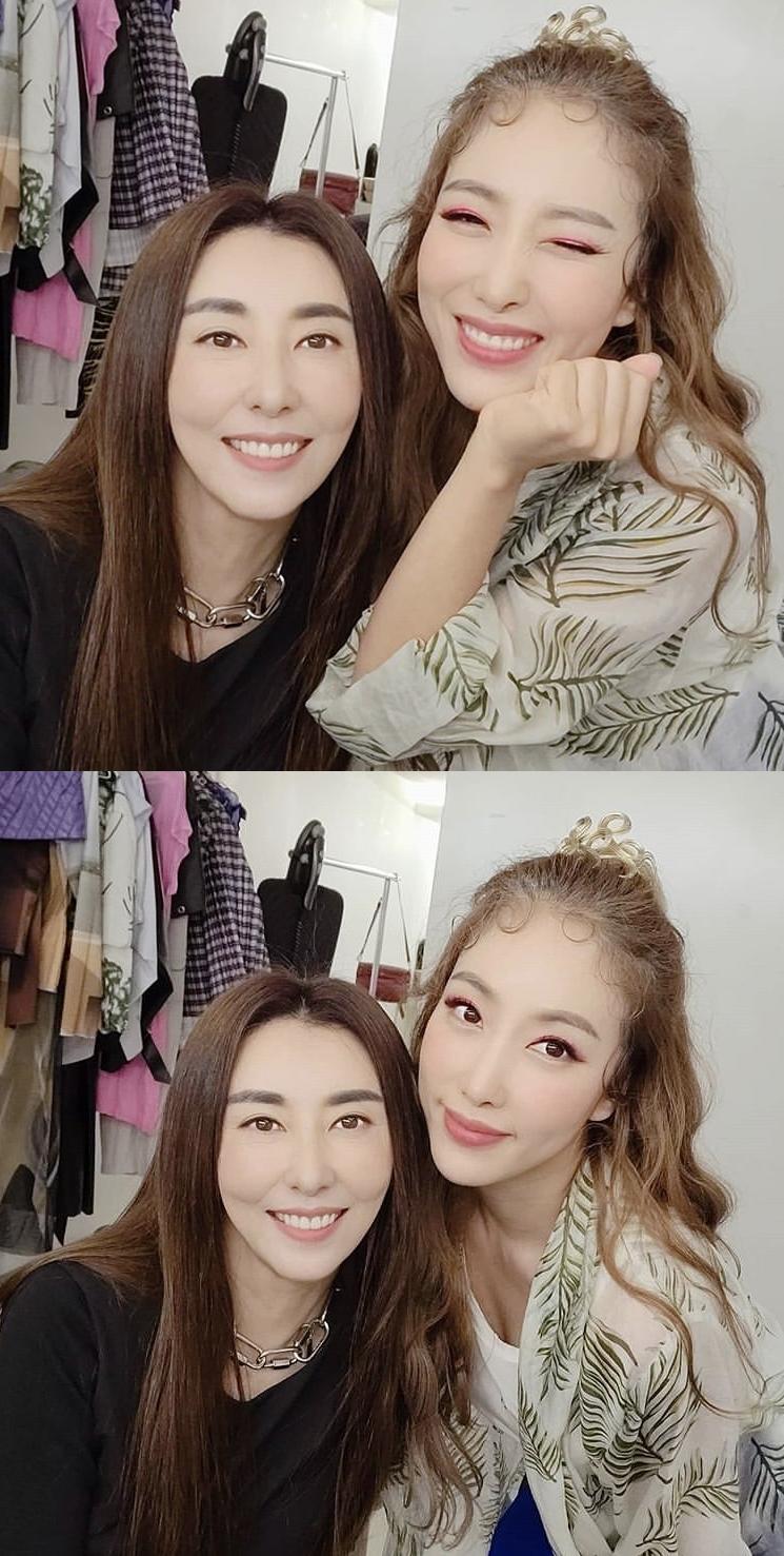 """김완선X숙행, 예쁨 폭발 투샷 """"많이 응원해주세요"""""""