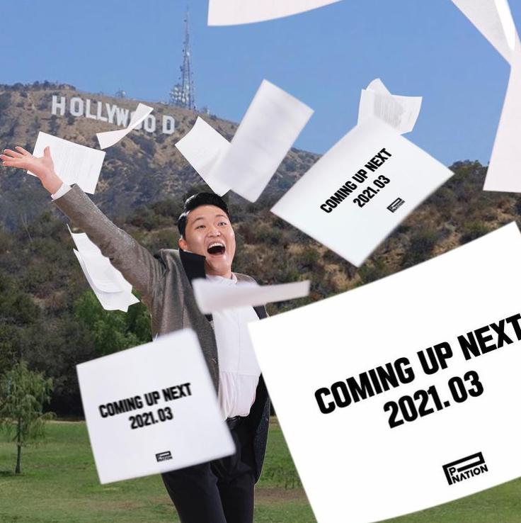 싸이 인스타 업뎃(P NATION COMING UP NEXT)