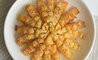 에어프라이어 레시피, 블루밍어니언 양파꽃튀김 만드는법!