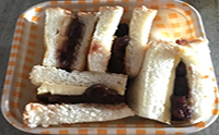 팥빙수 팥 활용 레시피 - 앙버터 토스트 만들기