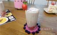 리얼 딸기우유 레시피, 홈메이드 생딸기우유 만들기