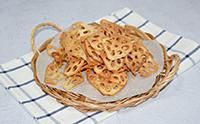 연근칩 만드는법 바삭바삭한 간식만들기