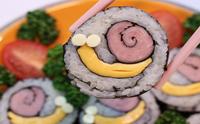 봄소풍 도시락 :: 달팽이김밥 만들기