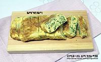 봄나물요리-달래계란말이^^