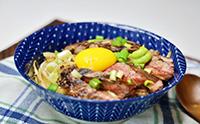 [한그릇요리]든든한 스테이크 덮밥 만들기