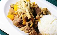 뒷다리살 간장덮밥 별미 한그릇음식 뒷다리살요리