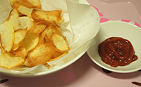 바삭한 감자칩만들기