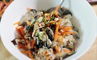 영양만점 굴밥