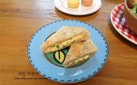 코코넛 스크램블 샌드위치