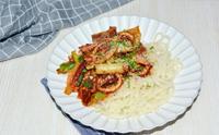 오징어 비빔 칼국수