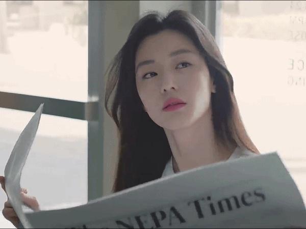네파 씨에프 제대로  찍은 전지현