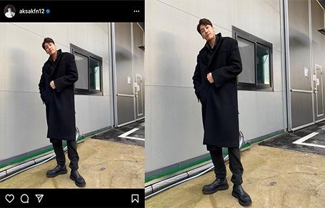 김영광 코트 스타일