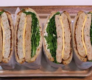 닭가슴살 스테이크 샌드위치