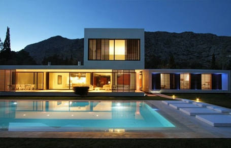스페인 하우스 건축 인테리어
