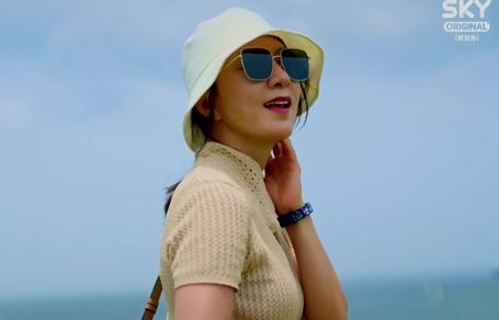 잠적 김희애 버킷햇 스타일 멋져요